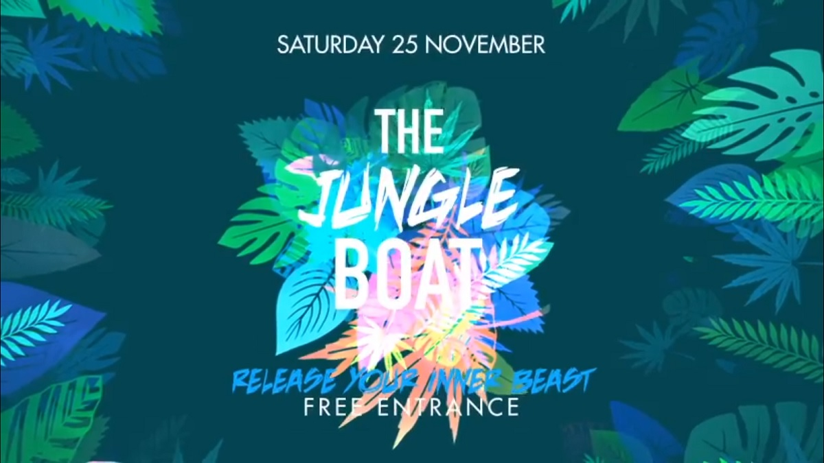 23 11 The Jungle Boat 25 november 2017 The Lounge Boat