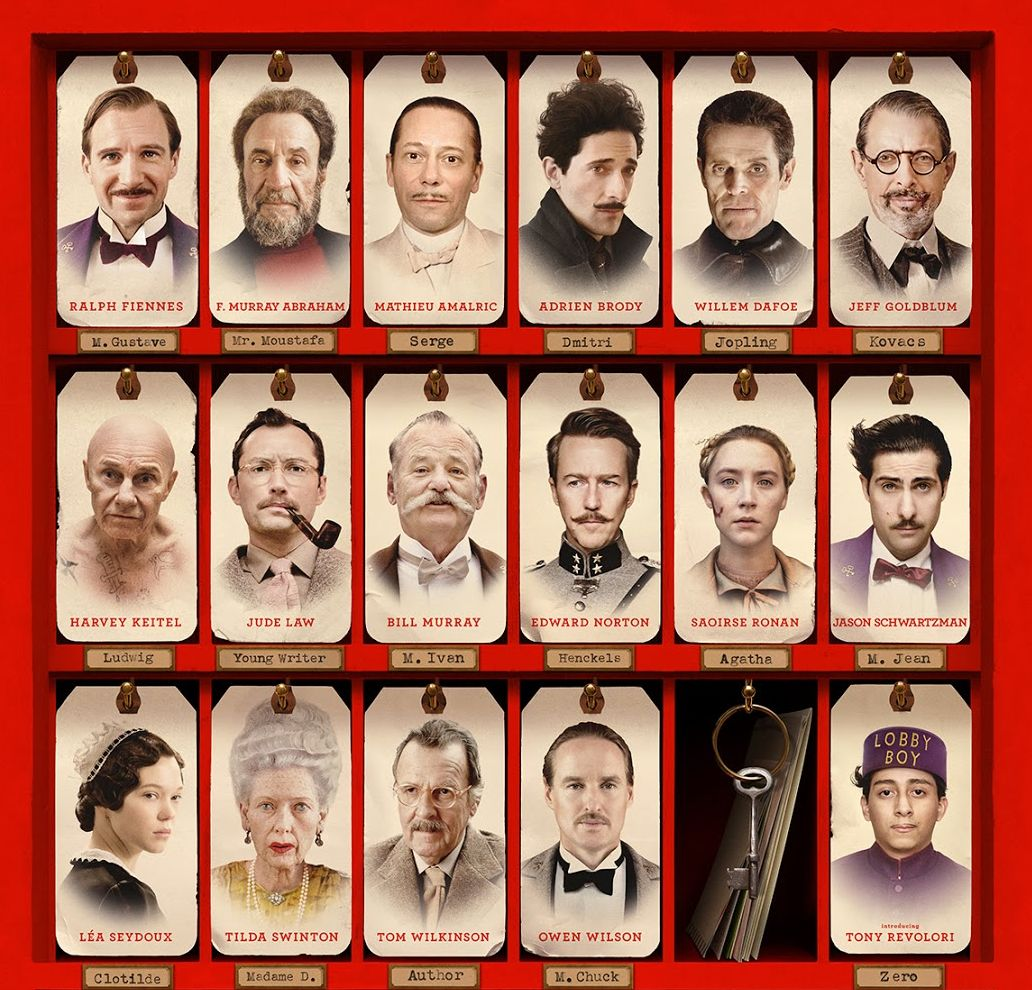18 08 02 The Grand Budapest Hotel Cast