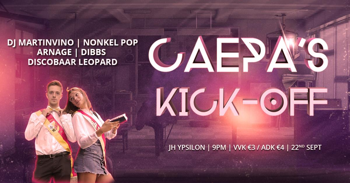 18 09 20 Caepas Kick OffJH Ypsilon Zaterdag 22 september 2018