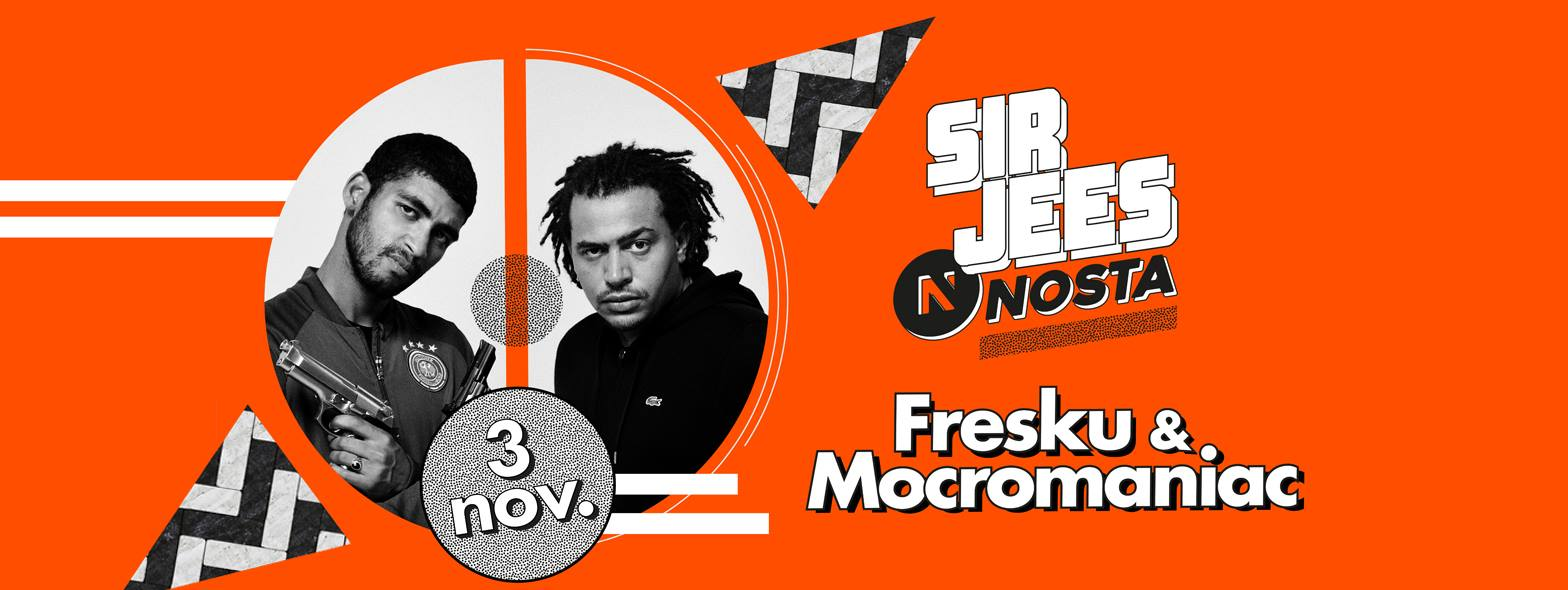 HipHop Sir Jees Nosta Fresku Mocromaniac 3 november